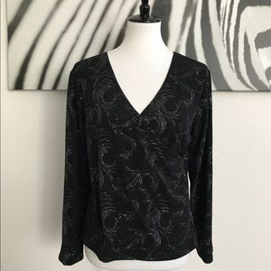 💕2/$20 OR $15💕NWT CLAUDIA RICHARD TOP